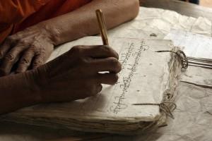 dai-monk-writing