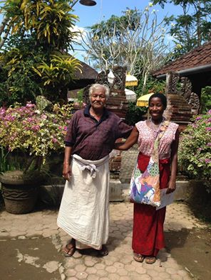 Crystal Lynn and Healer in Bali