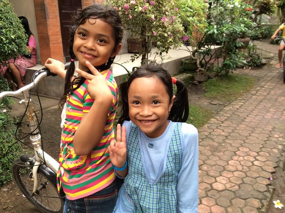 Crystal Lynn and Balinese Girls