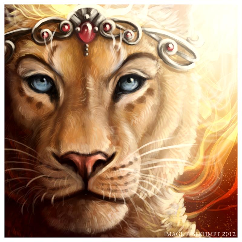 This amazing art piece was found here: http://www.deviantart.com/art/Regal-Warrioress-321691495