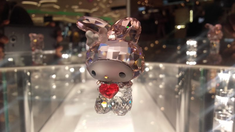 Hello, Kitty Swarovski bling in Mumbai International Airport